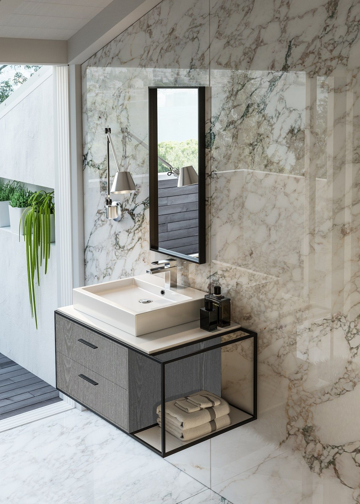 Bathroom Cabinets | Mission West Kitchen and Bath | Bathroom ...