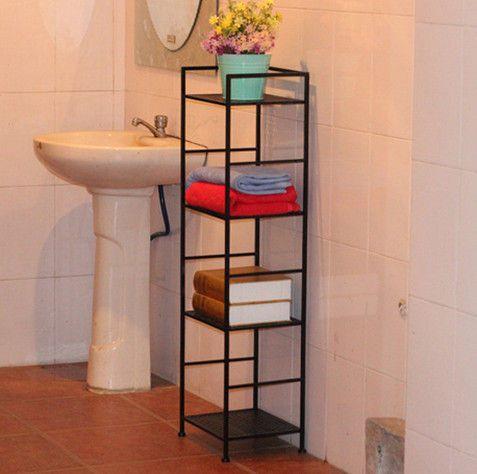 Amazing Modern Bedroom Free Standing Storage Shelves For Balcony Bathroom DX K156