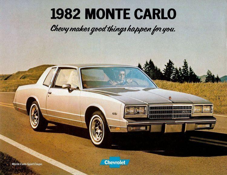 82 Monte Carlo Chevrolet Monte Carlo Chevrolet Monte Carlo