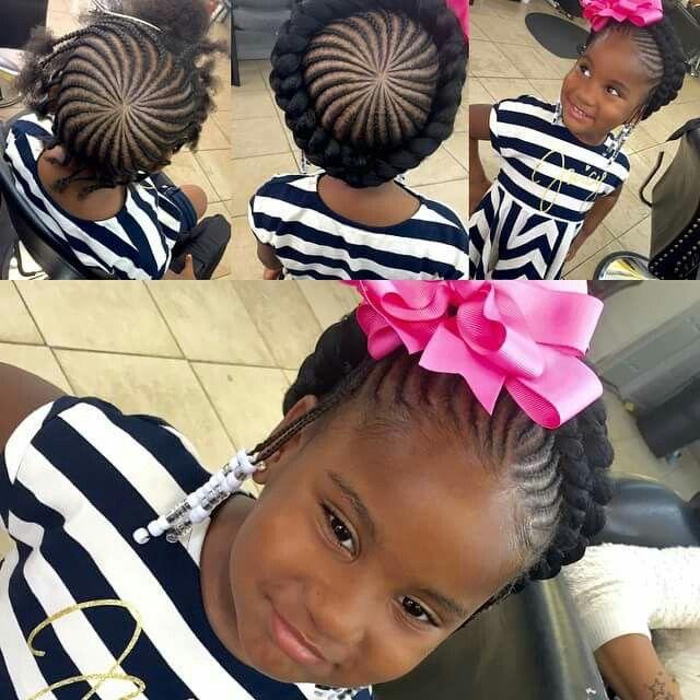 Crown For Princess Cornrow Styles For Girls Little Girl Braids