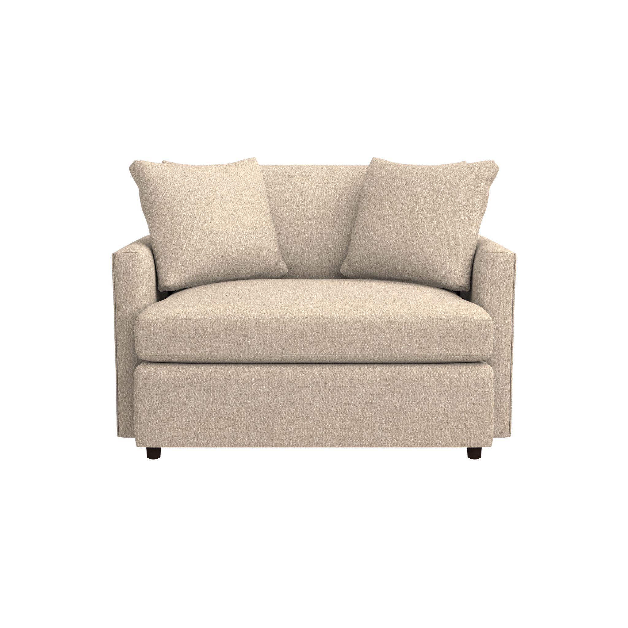 Best Lounge Ii Grey Chair And A Half Reviews Crate And 400 x 300