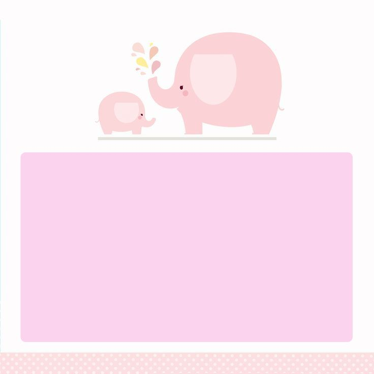 Download Free Printable Cute Little Elephant Baby Shower - Free Baby Invitation Templates