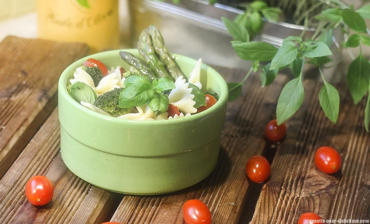 Recette de Salade de Farfalle Asperges et Brocoli ...