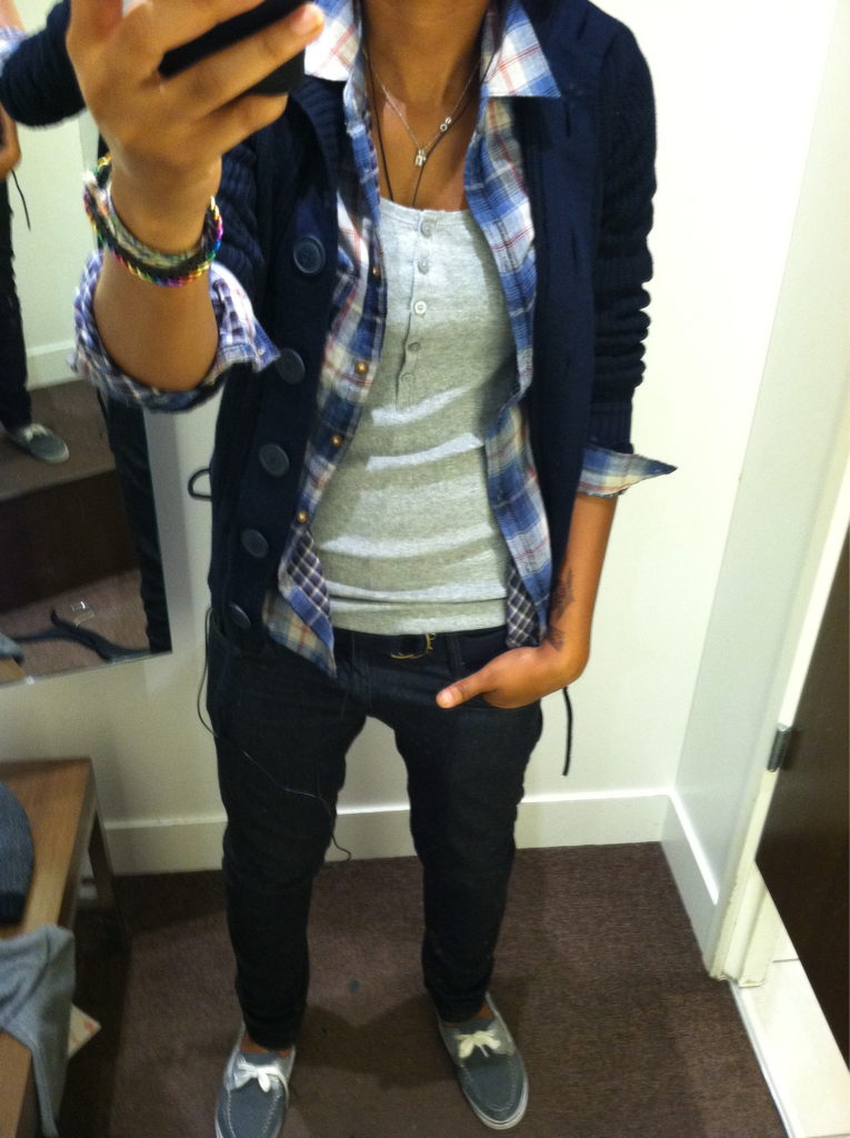 Non girly tomboy comfy love the cardigan plaid - Cute tomboy outfits ...