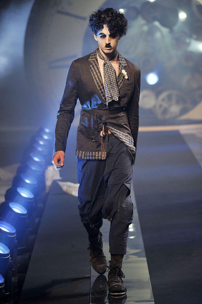 John Galliano | Spring 2011 Menswear Collection | Style.com