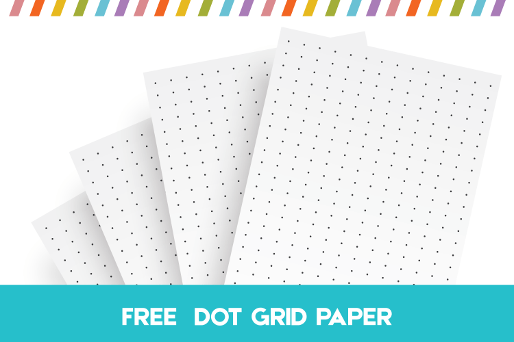 graphic relating to Printable Bullet Journal Paper identify Totally free Printable Dot Grid Paper For Bullet Publications And Notes