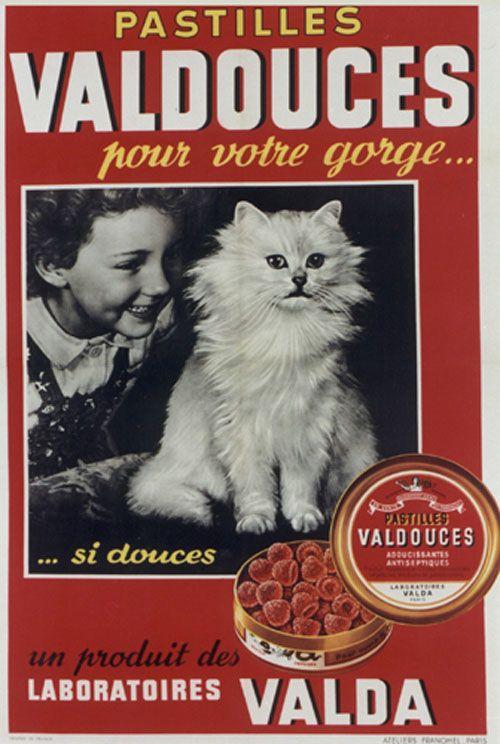 Valda vintage ad