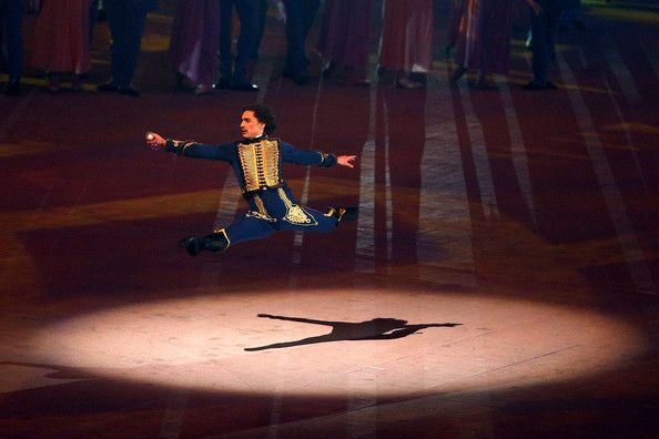 Dancer Ivan Vasilyev performs during the Opening Ceremony of the Sochi 2014 Winter Olympics at Fisht Olympic Stadium on February 7, 2014 in ...