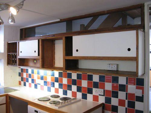 Superb Vintage Mid Century Modernist Kitchen 1950s Le Corbusier