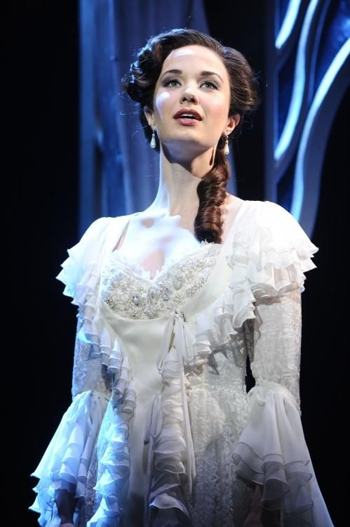 Sierra Boggess Love Never Dies Musical Phantom Of The Opera