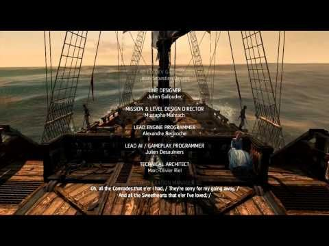 The Parting Glass Ending Song Ac4 Black Flag In Game Soundtrack The Parting Glass Black Flag Songs