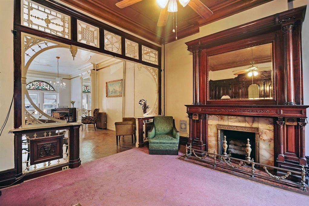 Rear Parlor 261 Hancock St Bedford Stuyvesant Architecture