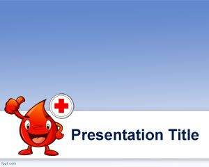 hematology powerpoint template is a free medical template for, Modern powerpoint
