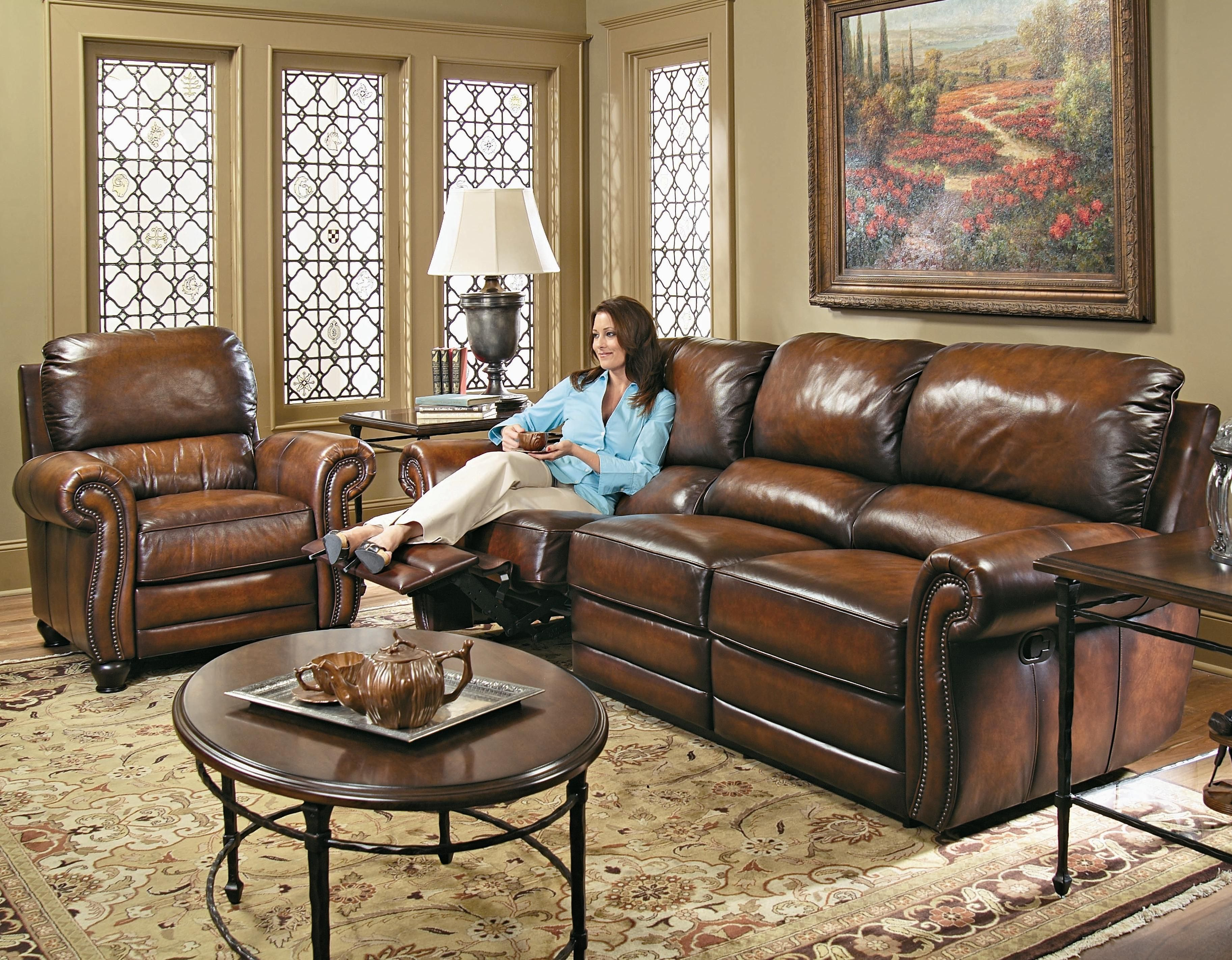 Surprising Reese Leather By Bernhardt Miskelly Furniture Creativecarmelina Interior Chair Design Creativecarmelinacom