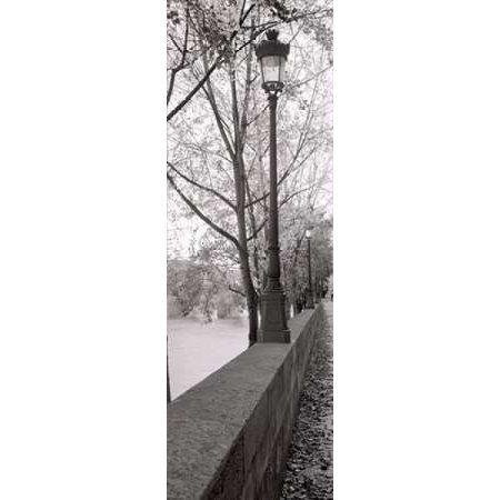 Posterazzi Seine Promenade Canvas Art - Alan Blaustein (8 x 24)