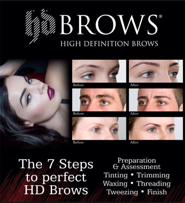 Hd Brows All These Stages Will Give You The Perfect Brows Hd