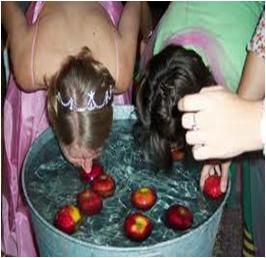 Fun Halloween Party Game Teenagers: Bobbing Apples | Halloween ...