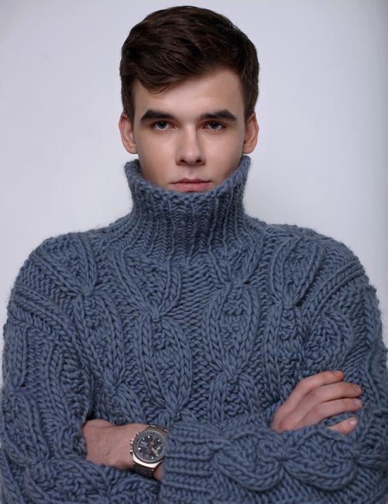 Men in Sweaters   Knitting Design Inspiration!   Pinterest