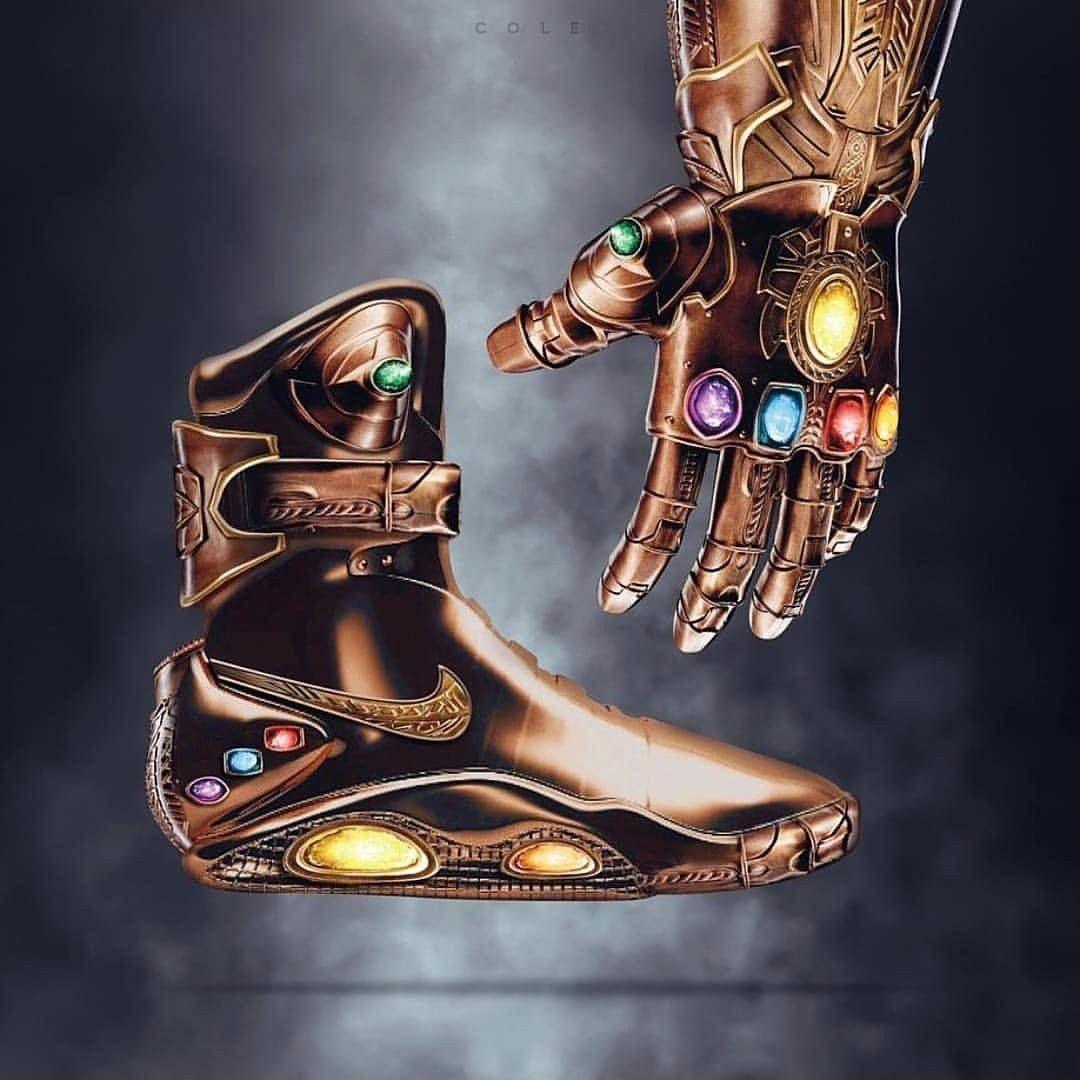 25b14b2e708c73 Marvel  AvengersInfinityWar light-up shoes. I want these SO much ...