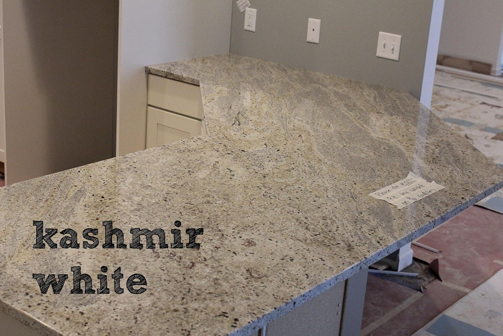 Kashmir White Granite Lot 23 Day 128 Our New Abode