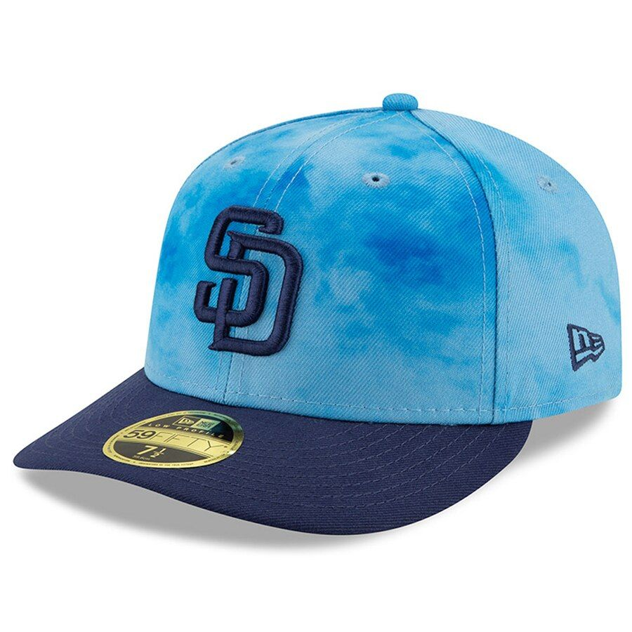 separation shoes b07d7 c4f4c Men s San Diego Padres New Era Blue Navy 2019 Father s Day On-Field