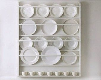 Plate Rack Plate Holder Wall Mounted Plate Shelf & Plate Rack Plate Holder Wall Mounted Plate Shelf | Plate rack ...