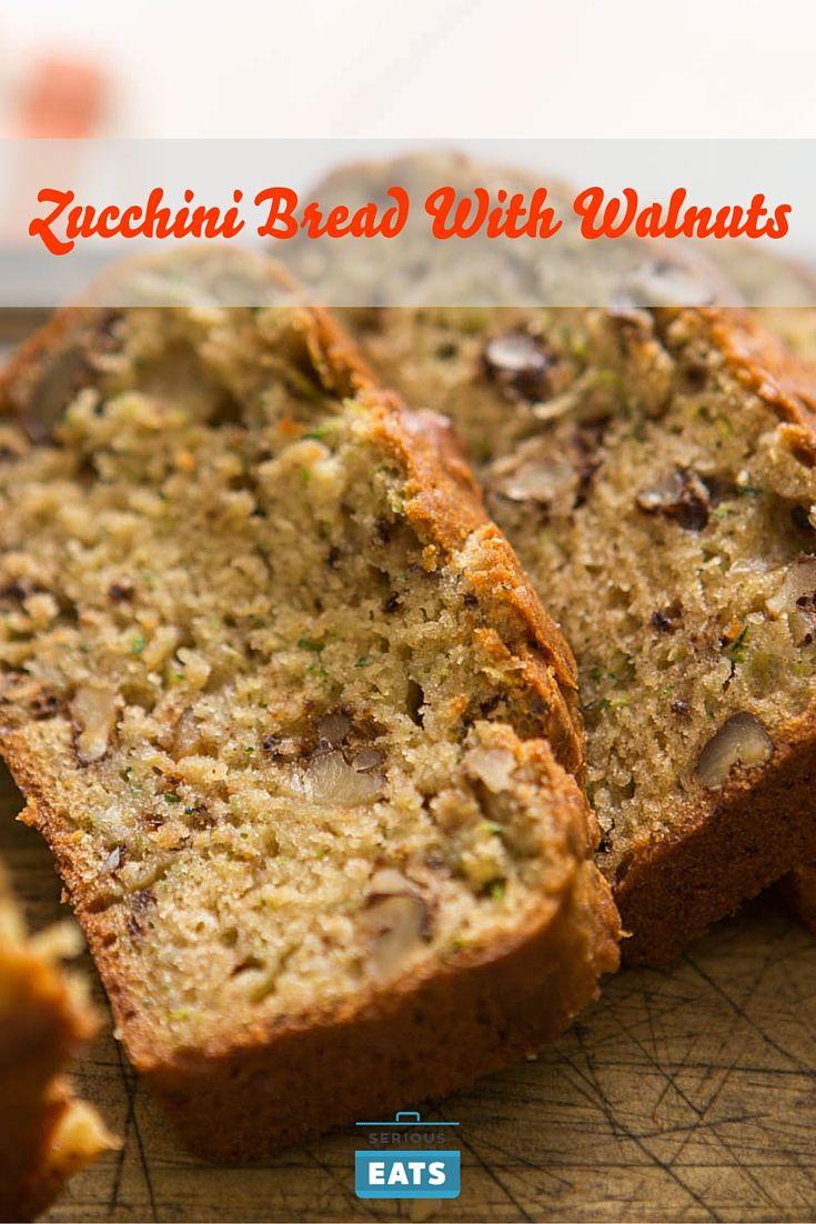 Zucchini Bread With Walnuts Recipe Zucchini Bread Walnut
