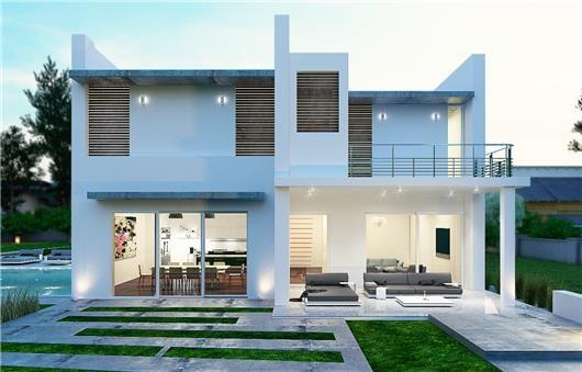 Marbella 200 m2 hormig n celular con doble pared maison - Casas hormigon celular ...