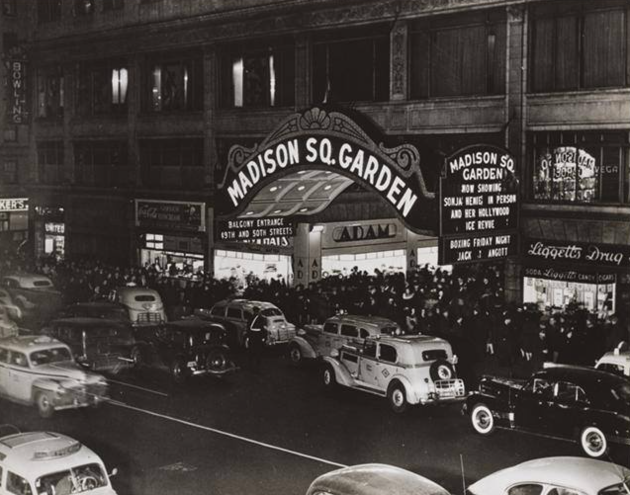 Madison Square Garden 1947 With Images Madison Square Garden