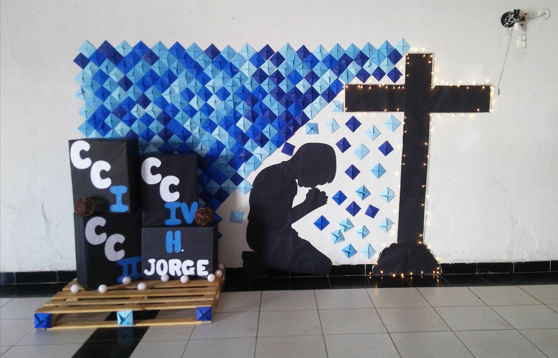 Painel Para Culto De Jovens Decoração Jovens