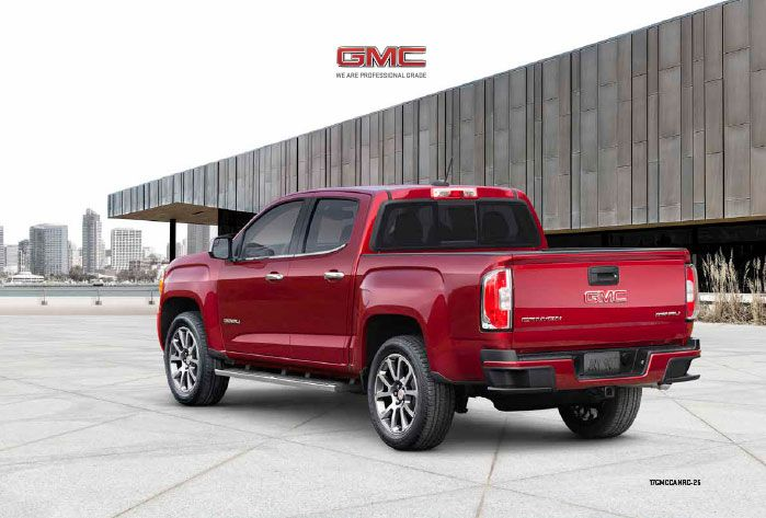 2017 Gmc Canyon Brochure Gmc Canyon Gmc Canyon