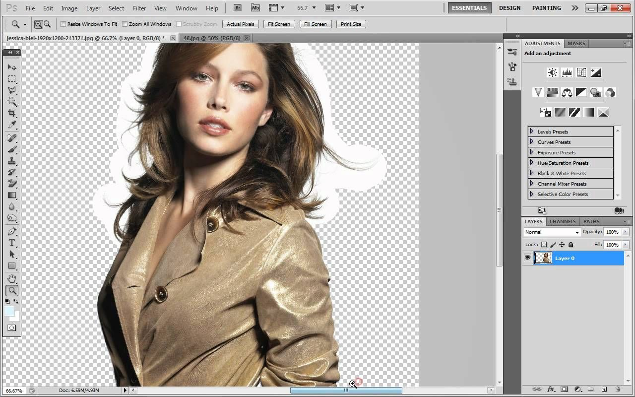 Adobe photoshop cs5 how to remove the background of an image quick mask to remove background background eraser to remove background around hair baditri Images