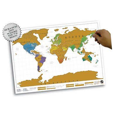 World map educational scratch off map poster null httpamazon world map educational scratch off map poster null httpamazon gumiabroncs Gallery