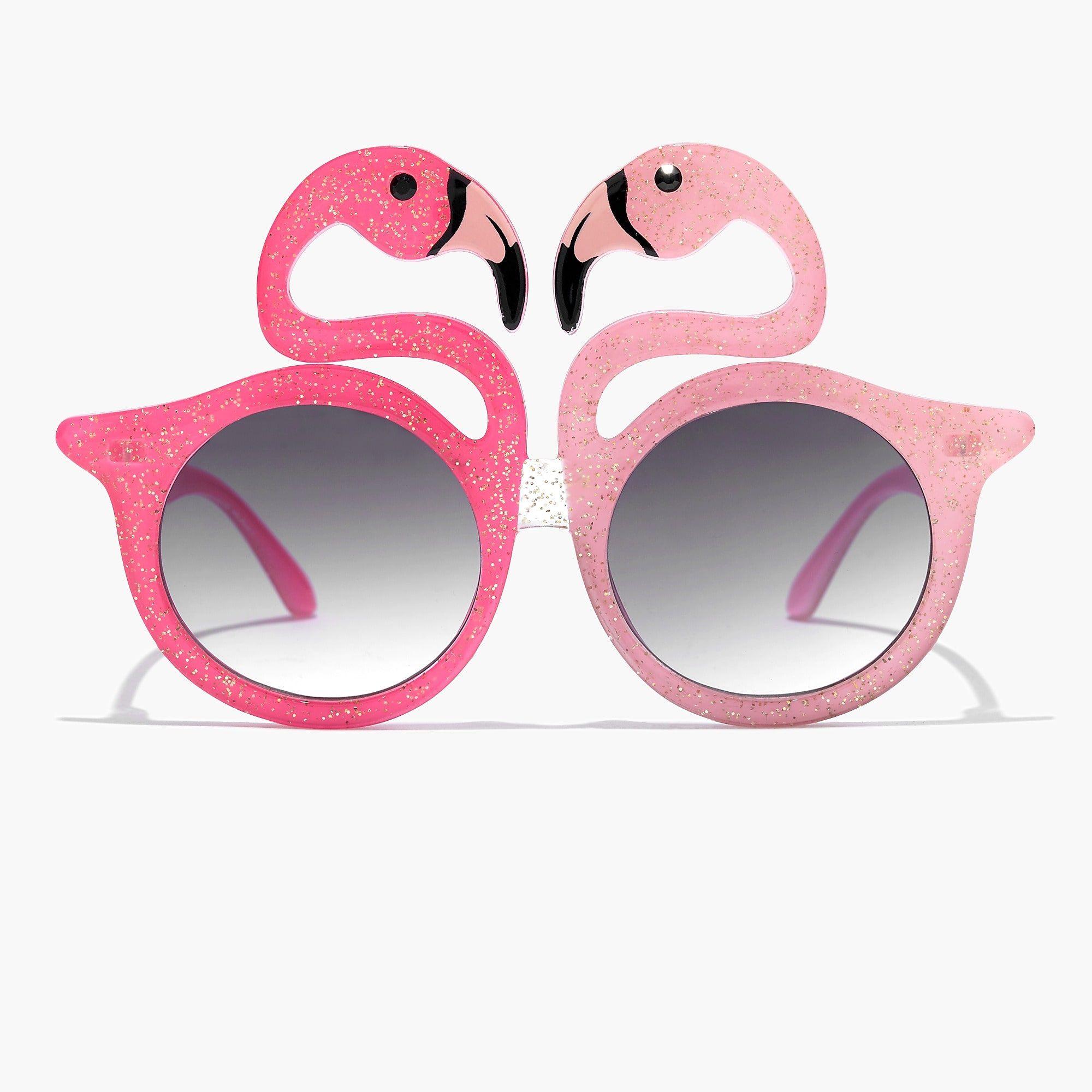 Shop J.Crew for the Girls' glitter flamingo sunglasses. Find
