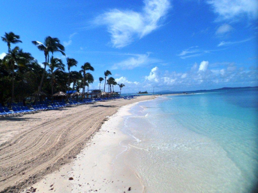 Palomino Island Small Private That The El Conquistador Resort Has Off Coast Of