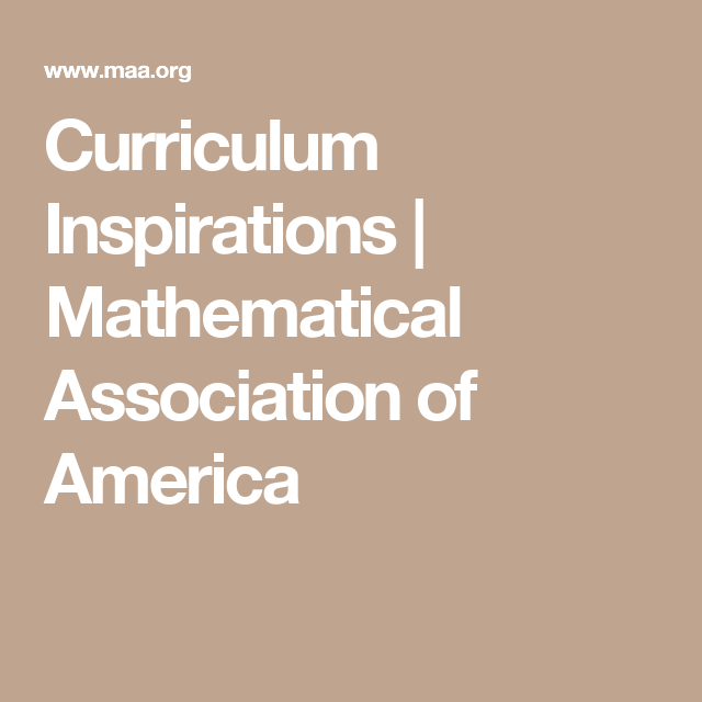 Mathematical Association Of