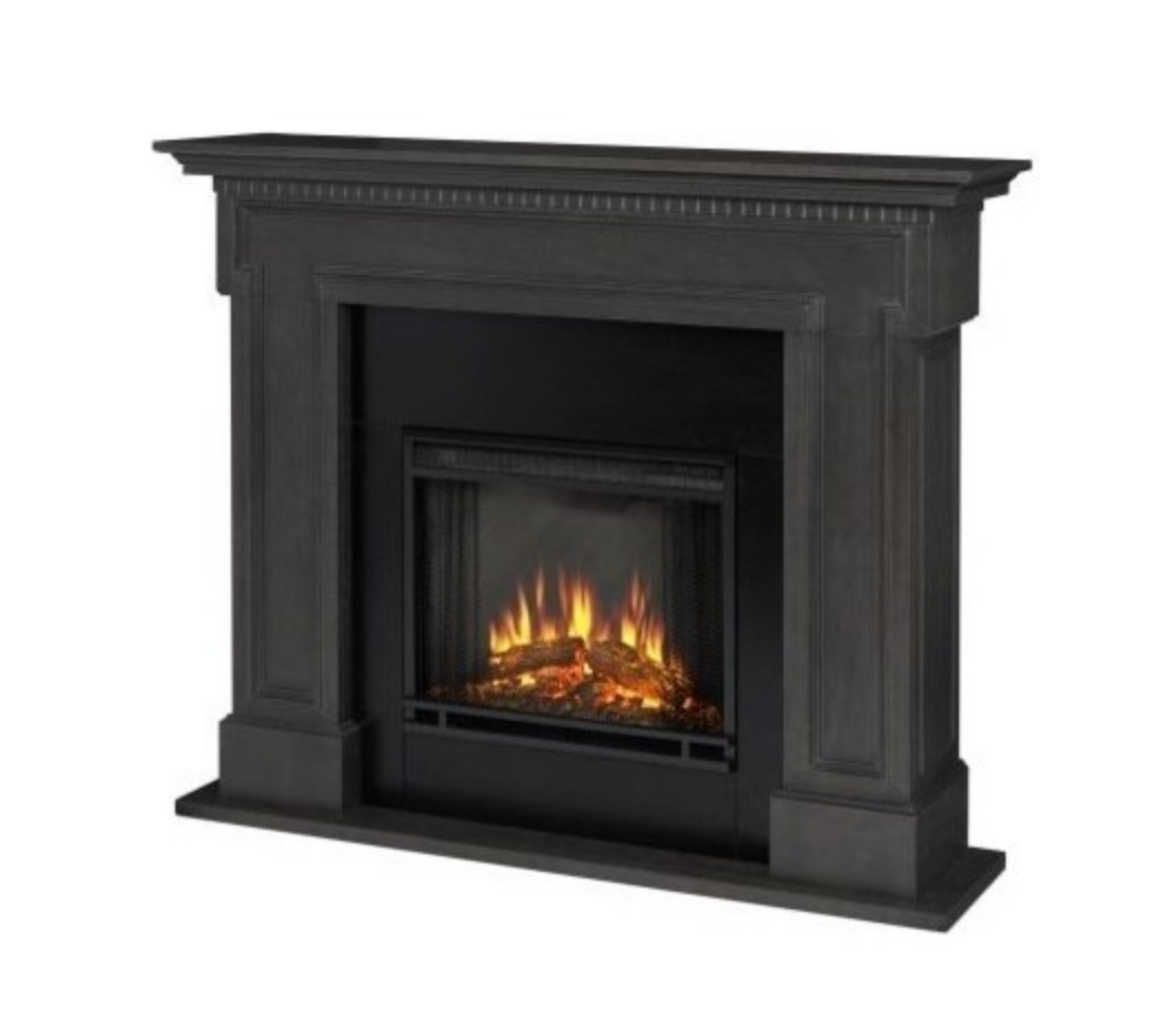 H Electric Fireplace