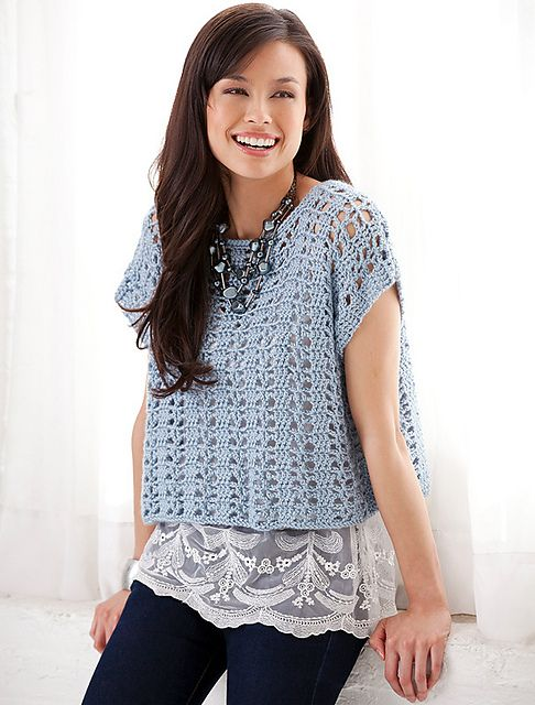 Ravelry: Casual Summer Top - free pattern by Diane Moyer (see notes ...