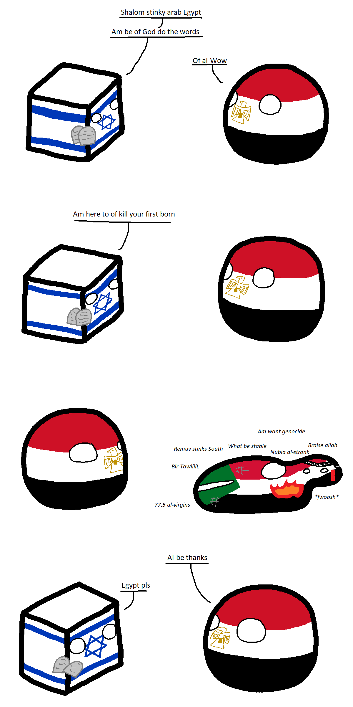 Sultanate Of Egyptball Polandball Wiki Fandom