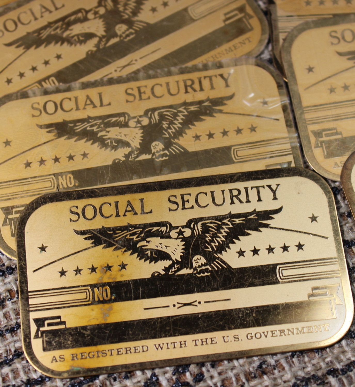 Blank Social Security Card Image 2021