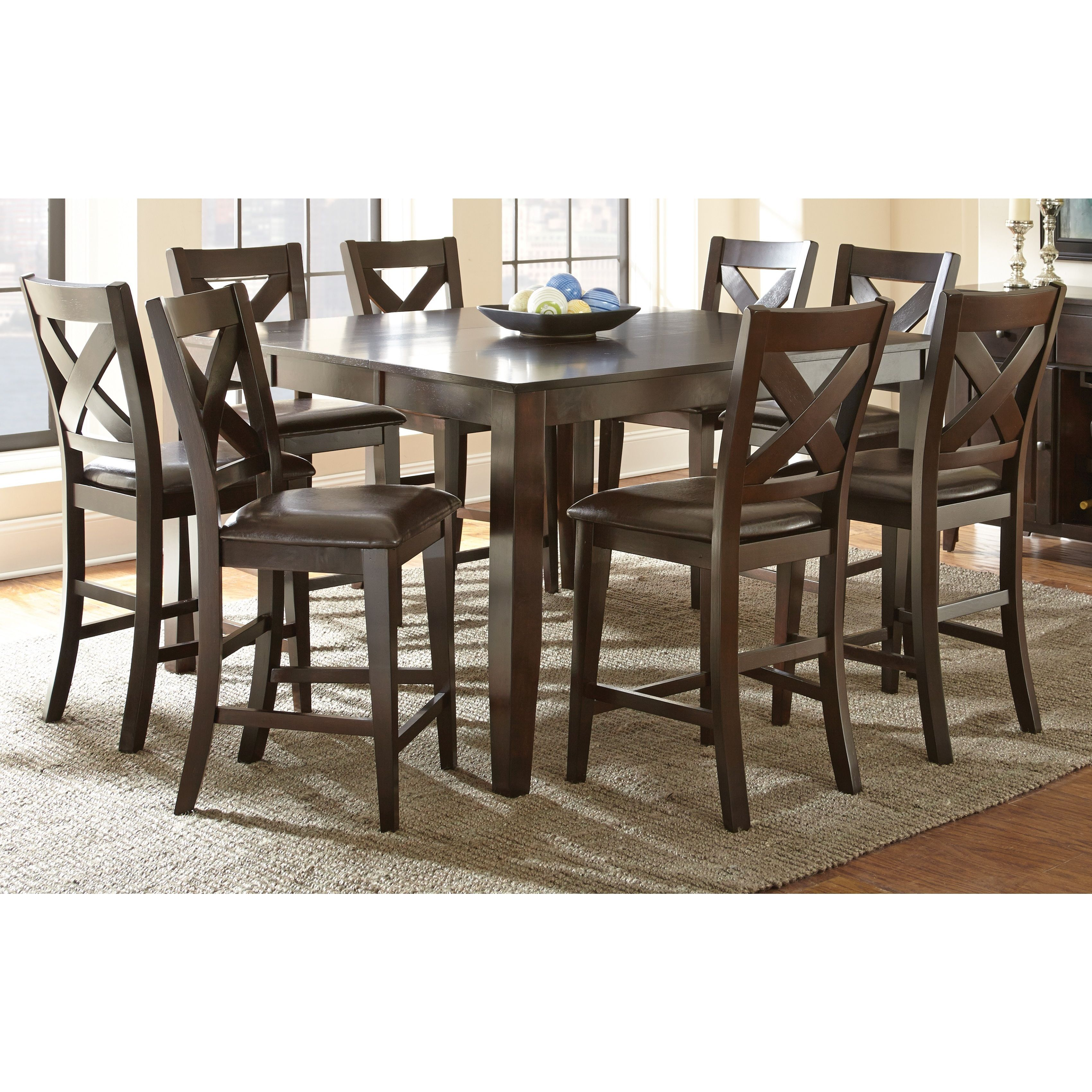The beautiful Copley counter height dining set will bring warmth and ...