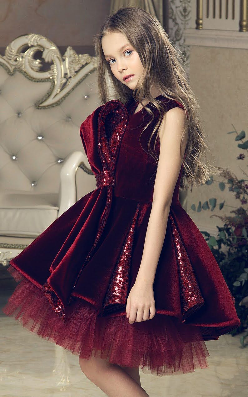 Must Have of the Day  Girls special occasion dress by luxury designer Junona 17deafb8dd58