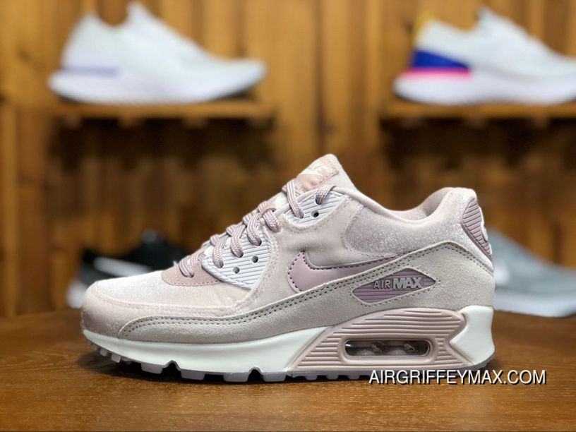 170 Nike AIR MAX 90 LX Zoom Women Shoes Cherry Blossom Put