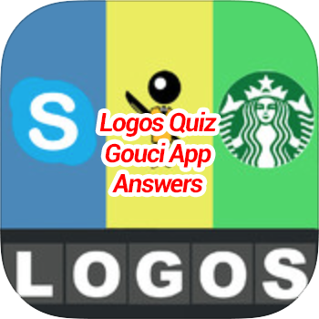 Logos Quiz Gouci App Answers Cheat Solution With Updated Total All 20 Levels For Iphone Android In 2020 Logo Quiz Quiz Logo Quiz Answers