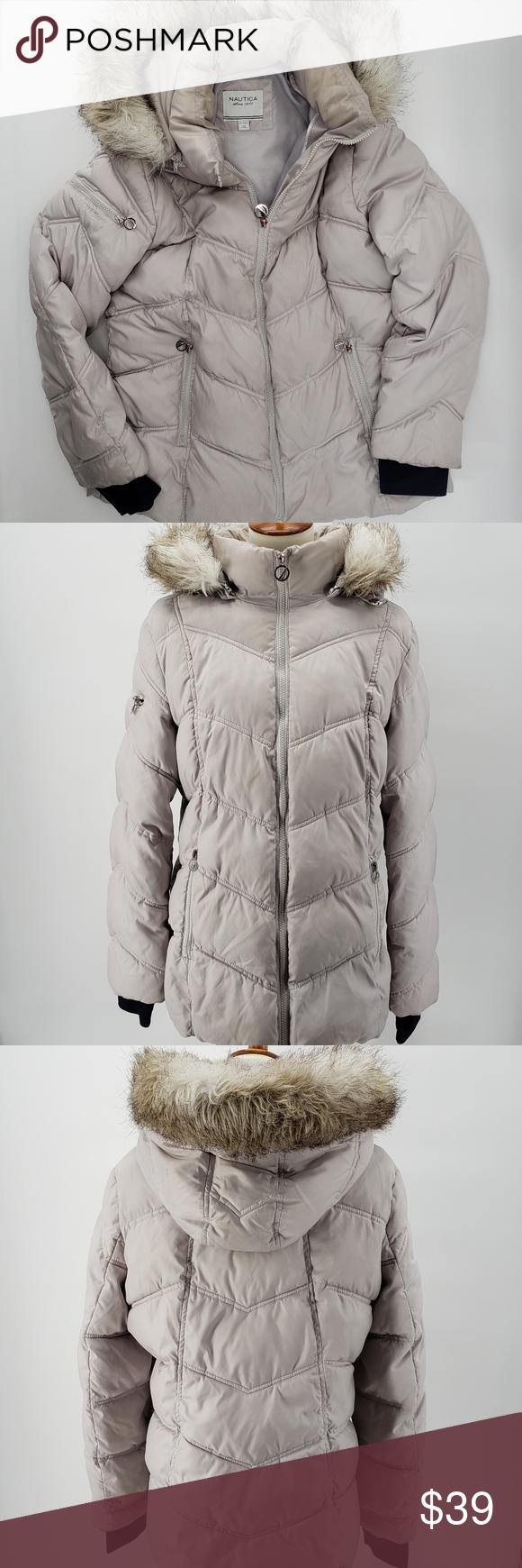 Nautica Winter Hooded Puffer Jacket Size L Puffer Jackets Jackets Nautica [ 1740 x 580 Pixel ]