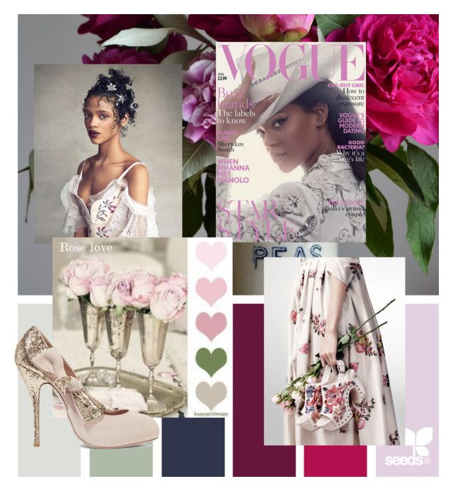 """""""Thinking in Pink"""" by snowflakes214247 ❤ liked on Polyvore featuring RED Valentino"""