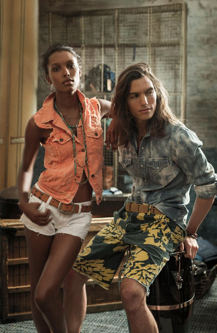 Effortless style with a bohemian twist from Denim & Supply Ralph Lauren