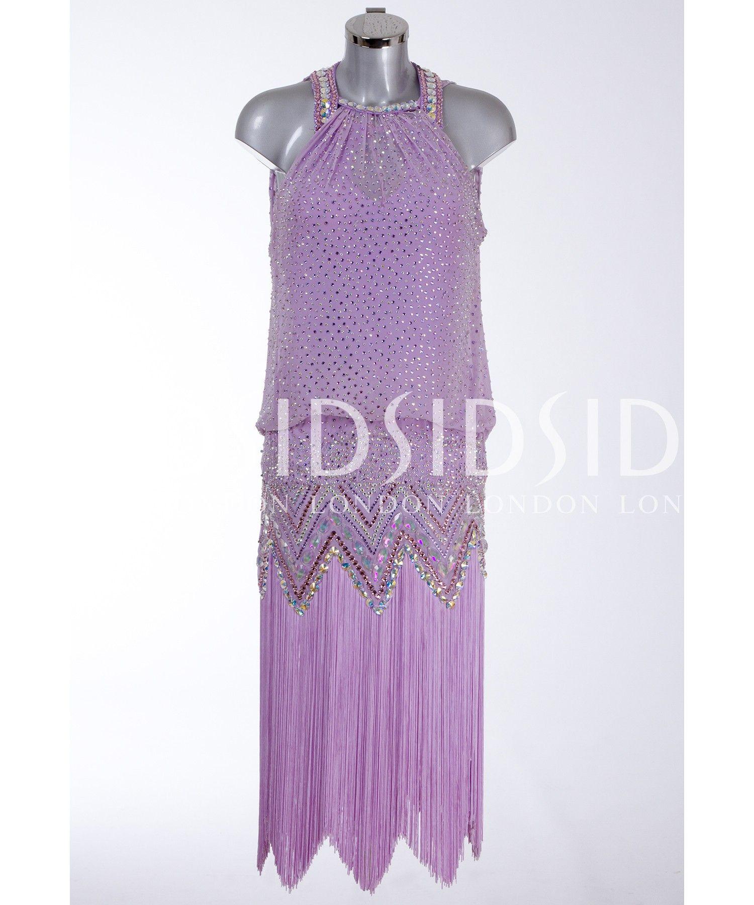 403692 Lilac Latin Dress | Latin dresses for sale | Dance ...