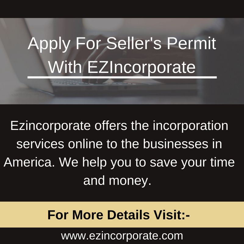 Apply for sellers permit or resale tax license 89 how