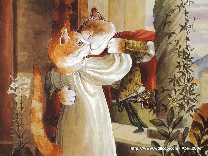 shakespeare cats | Shakespeare Cats : Cat Paintings by Susan Herbert…
